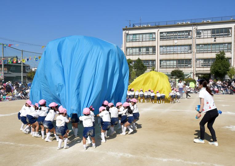 すずらん幼稚園運動会01