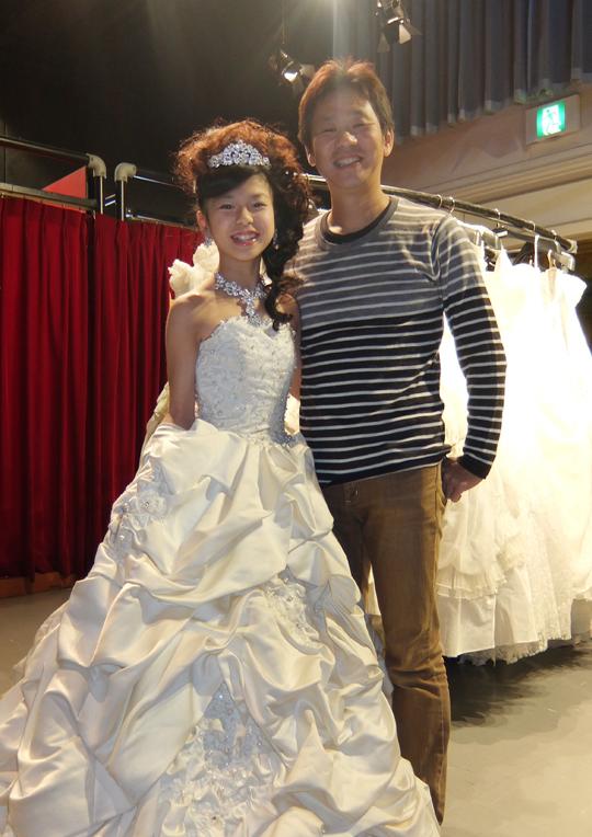 USJ 白ドレス