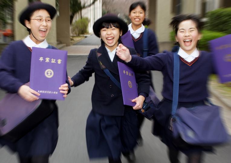 美凪 卒業式04