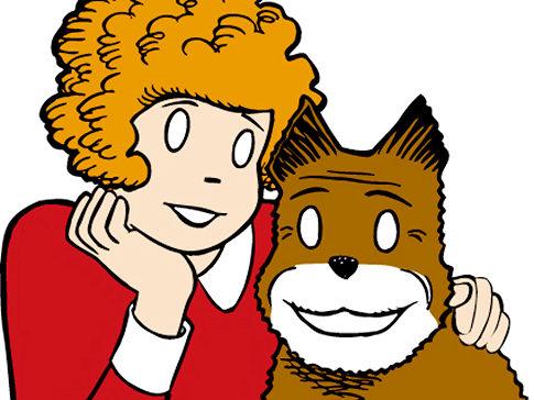 'Annie' comic strip