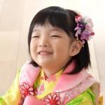 自然な笑顔が宝物~さくらちゃんの七五三